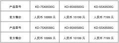 将音画黑科技集于一身 索尼X8500G、X8588G液晶电视在华上