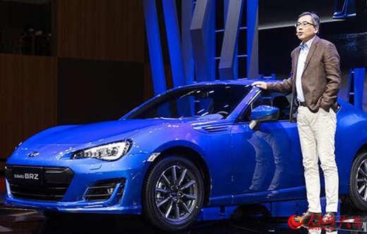 斯巴鲁新款SUBARUBRZ上海车展发布售27.38万元起
