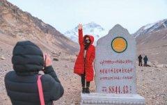 珠峰旅游进入旺季