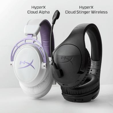 HyperX推出两款全新游戏耳机