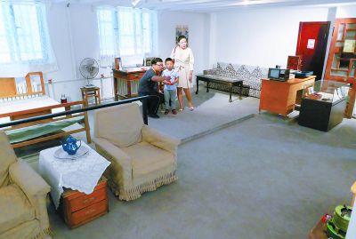 北京市展览路办居民身边的博物馆