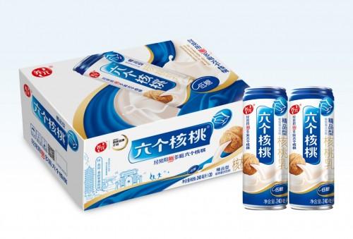 养元饮品六个核桃坚持真材实料 可口营养备受市场认可