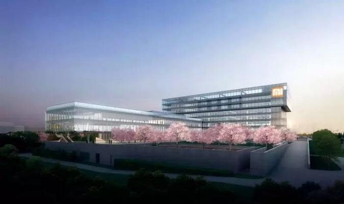 """小米金山武汉总部大楼封顶 """"雷系速度""""令人惊叹"""