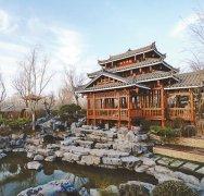 广西园:花湖映楼绚丽家园